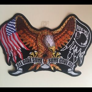Other - All Gave Some/Some Gave All Leather Jacket Patch